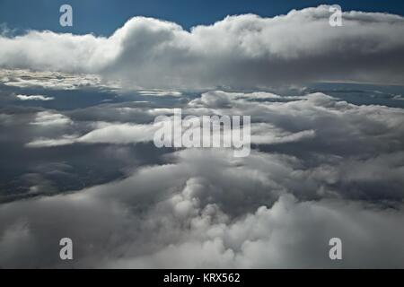 Clouds from above - Stock Photo