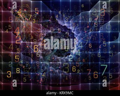 Conceptual Network - Stock Photo