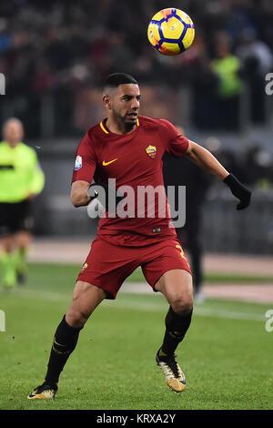 Rome, Italy. 21st Dec, 2017. Roma 20-12-2017 Olimpic Stadium Roma Torino Tim Cup Nella Foto Bruno Peres Photo Fotografo01 - Stock Photo