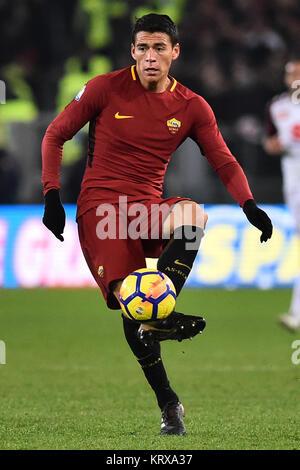 Rome, Italy. 21st Dec, 2017. Roma 20-12-2017 Olimpic Stadium Roma Torino Tim Cup Nella Foto Hector Moreno Photo - Stock Photo