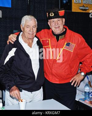 Hamilton, ON, USA. 1st Oct, 2017. 01 October 2017 - Hamilton, Ontario, Canada. WWE Legend wrestlers Pat Patterson - Stock Photo