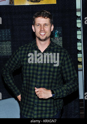 Hamilton, ON, USA. 1st Oct, 2017. 01 October 2017 - Hamilton, Ontario, Canada. Actor Jon Heder (best known for his - Stock Photo