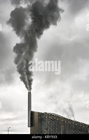 Copenhill waste-to-energy plant - Stock Photo