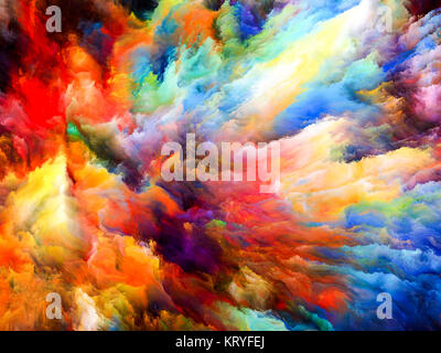 colorful paint explosion illustration color burst isolated on a