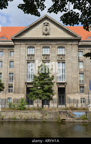 Federal Ministry of the defence, Reichpietschufer, zoo, Berlin, Germany, Bundesministerium der Verteidigung, Tiergarten, - Stock Photo