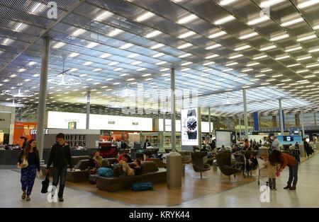 Airport, Charles de Gaulle, Paris, France, Flughafen ,´Charles de Gaulle´, Frankreich - Stock Photo