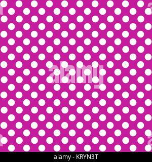 seamless dots pattern purple white