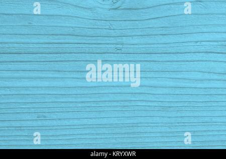 Helle blaue leere Holztextur mit Maserung als Hintergrund - Stock Photo
