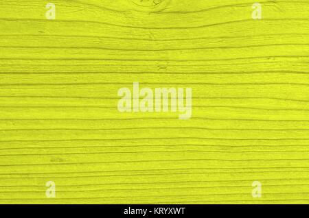 Gelbe leere Holztextur mit Maserung als Hintergrund - Stock Photo