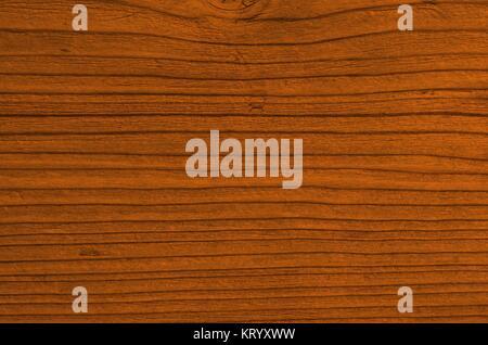 Braune leere Holztextur mit Maserung als Hintergrund - Stock Photo