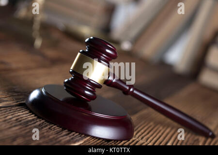 Law concept. Law and justice symbols composition. - Stock Photo