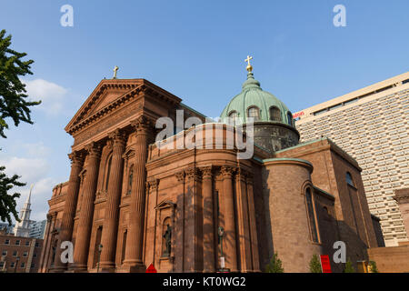 The Cathedral Basilica of Saints Peter and Paul on Philadelphia, Pennsylvania, United States. - Stock Photo