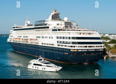 Sailing Ships Key West Florida USA Stock Photo Royalty Free - Cruise ships key west