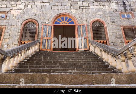 Darbar Hall, Rajwada, Indore - Stock Photo