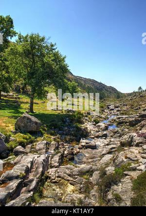 National Park of Peneda Geres in Portugal - Stock Photo