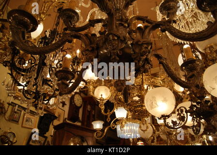 an antique light shop in philadelphia stock photo 169677427 alamy