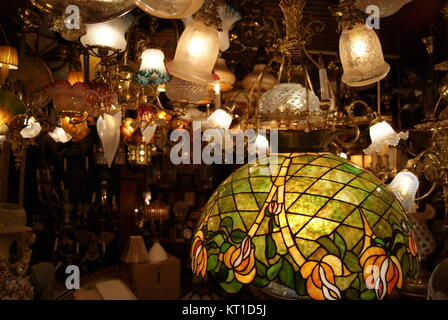 an antique light shop in philadelphia stock photo 169677458 alamy