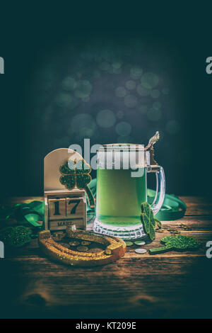 Composition for St. Patrick's Day - Stock Photo