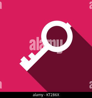 Key vector icon - Stock Photo