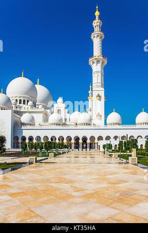 Scheich-Zayid-Moschee - Stock Photo