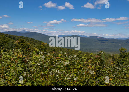 New Hampshire's White Mountain National Forest - Stock Photo