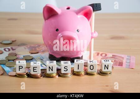 Symbolfoto für Rente - Stock Photo