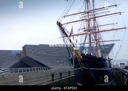 The V&A and Discovery in Dundee - Stock Photo