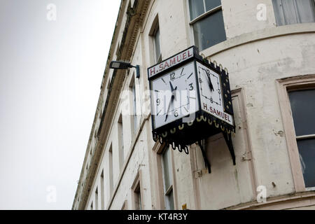 H. Samuel Clock, Dundee, Scotland - Stock Photo