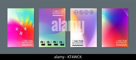 Geometric trendy illustration background, placard, hologram geometric style flat and 3d design elements. Retro art - Stock Photo