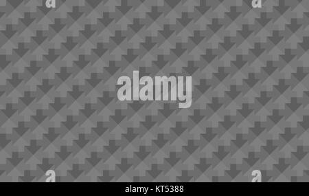abstract low poly grey texture arrows - Stock Photo
