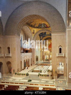 Sanctuary of the National Shrine of the Immaculate Conception - Stock Photo