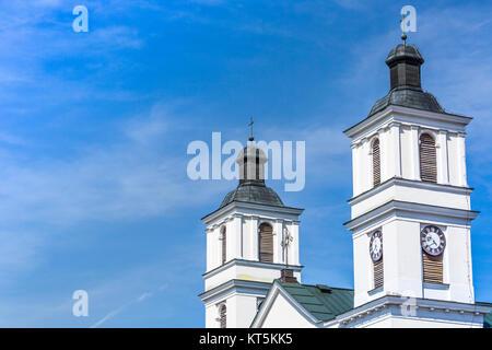 Church of St. Alexander in Suwalki. Poland - Stock Photo
