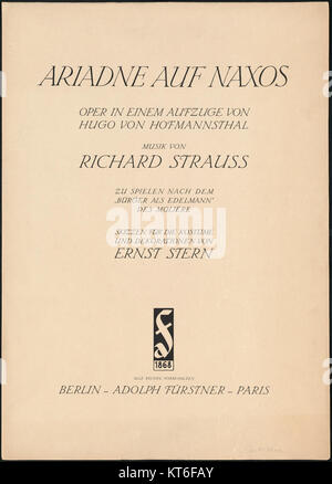 Ariadne Auf Naxos - Stock Photo