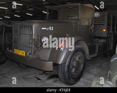 Army truck KN-29-04 served in Indie pic1 - Stock Photo