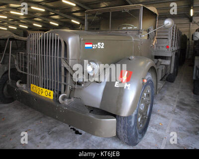 Army truck KN-29-04 served in Indie pic4 - Stock Photo