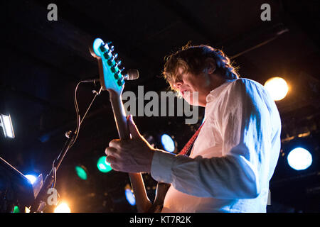 The American singer, songwriter and musician Thurston Moore is best known as the singer and guitarist of the rock - Stock Photo