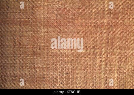 Bamboo Weave  texture ancient pattern thai style   background and space for add text - Stock Photo
