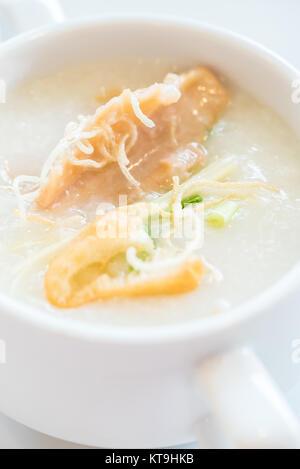 Congee Rice Porridge - Stock Photo