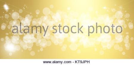 Wide multicolored bokeh background - Stock Photo
