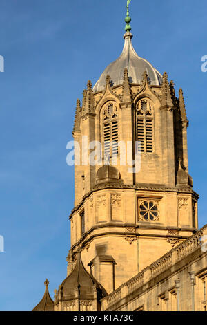 Around the University City of Oxford December 2017 - Stock Photo