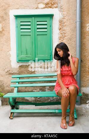 Feminine youngadult young-adult - Stock Photo