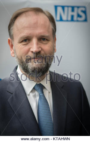 File photo dated 31/03/17 of NHS England's chief executive Simon Stevens, who has said that NHS staff will welcome - Stock Photo