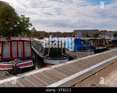 Bancroft Basin, Stratford-upon Avon Canal, Warwickshire - Stock Photo
