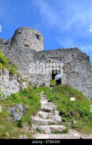 The Castle of Ehrenstein close to Reutte in Tirol (Austria) - Stock Photo