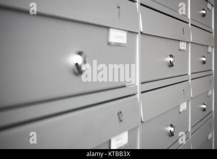 Condominium mailboxes - Stock Photo