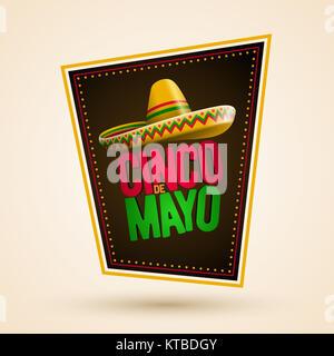 Cinco de Mayo design - Stock Photo