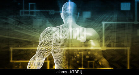 Technology Network - Stock Photo