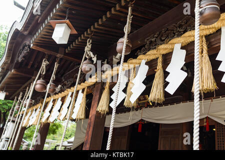 Japanese temple in japan - Stock Photo