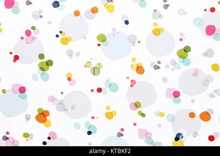 Close up of dots pattern background - Stock Photo