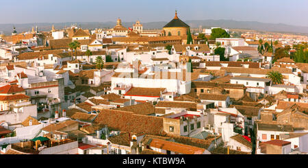 Panorama of the old city in Cordoba, Spain - Stock Photo